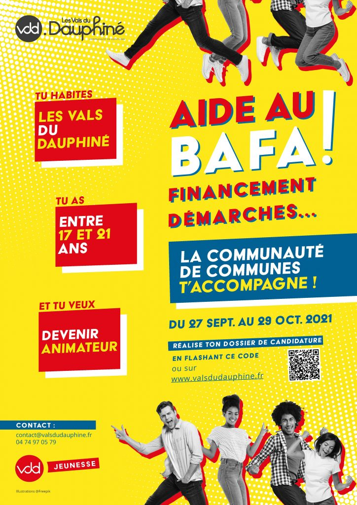 Aide financière Bafa Vals du Dauphiné